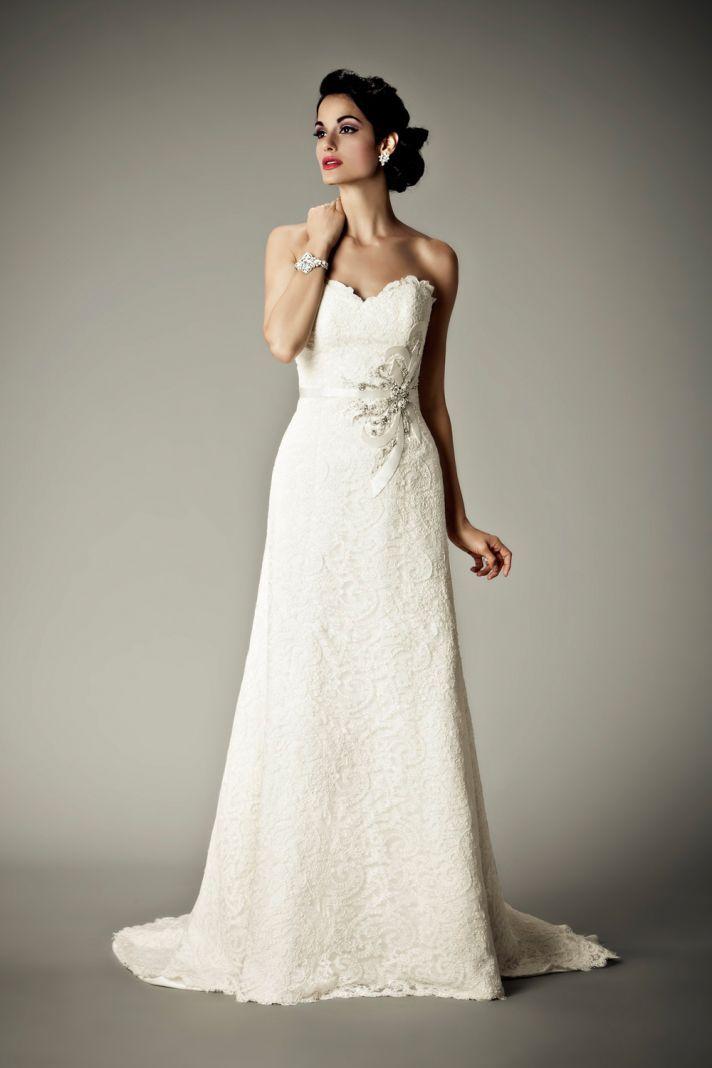 15 Divine Wedding Dresses for the Vintage Glam Bride | Matthew ...
