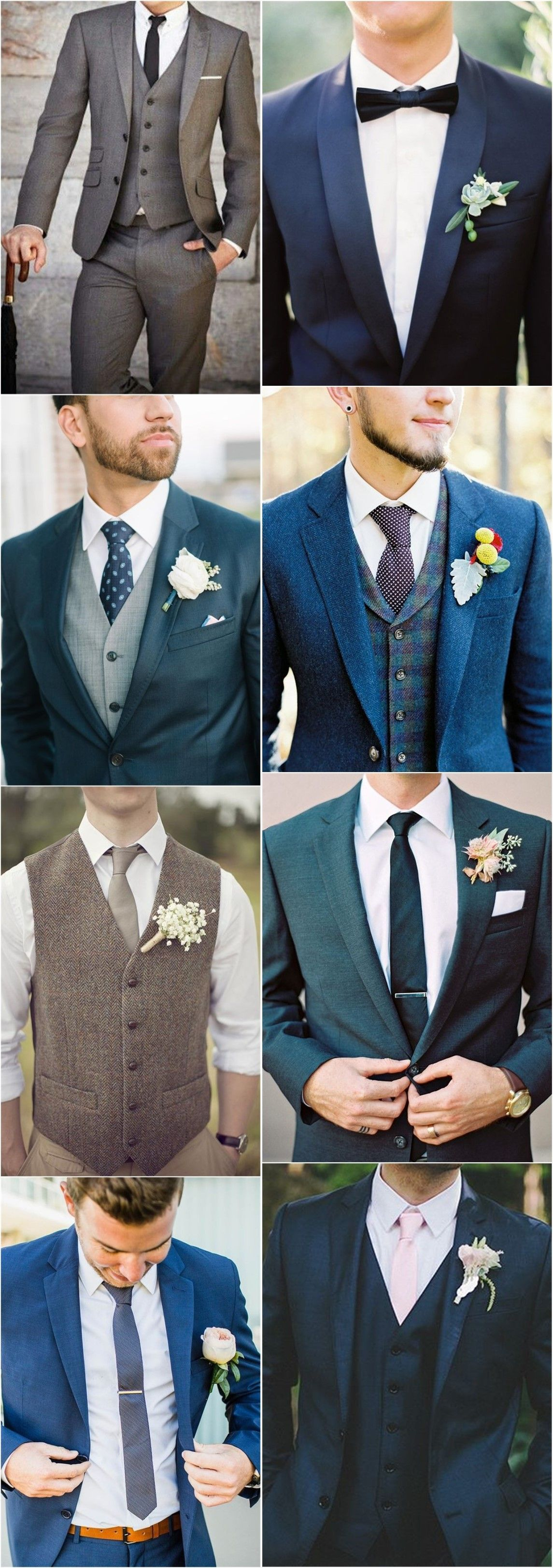 Wedding ideas groom groom suit that express your unique