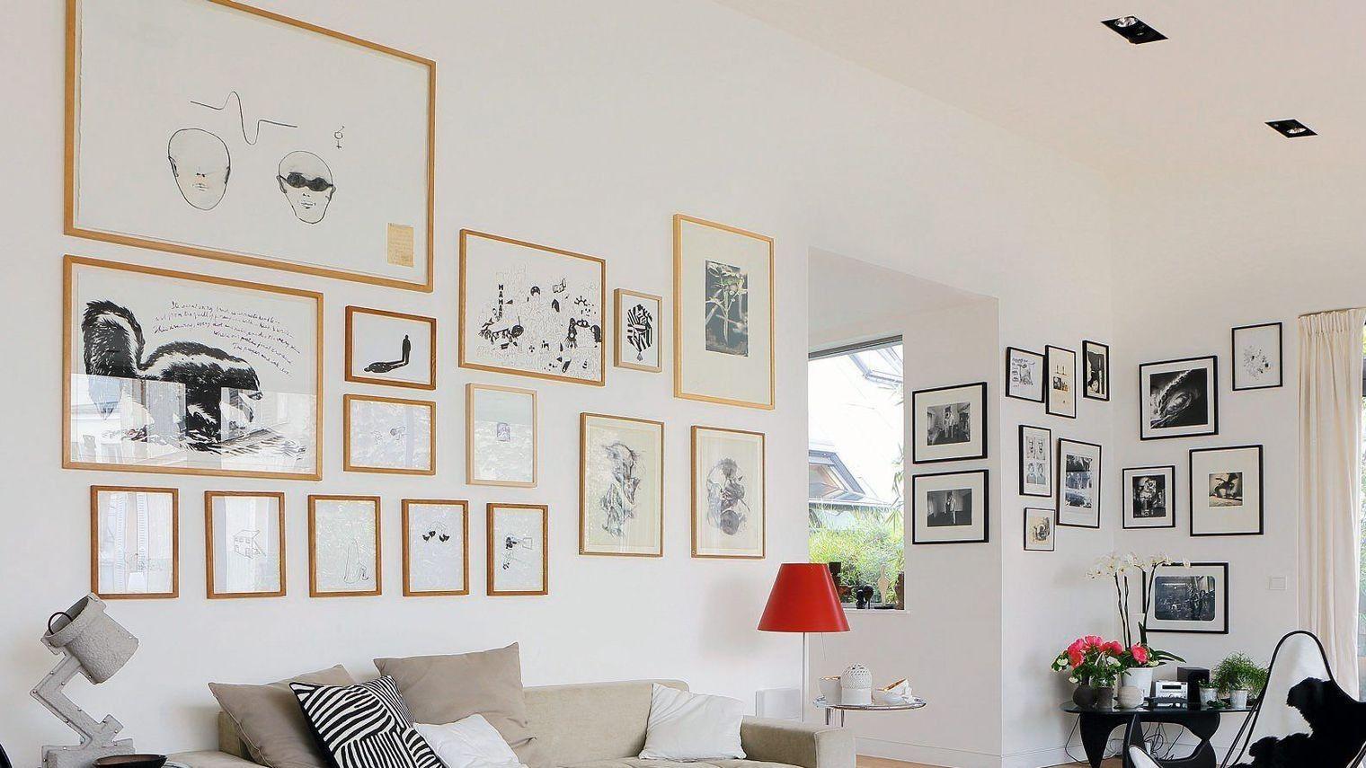 Pin by 505 on Deco | Idee deco mur salon, Idee deco murale, Idee ...
