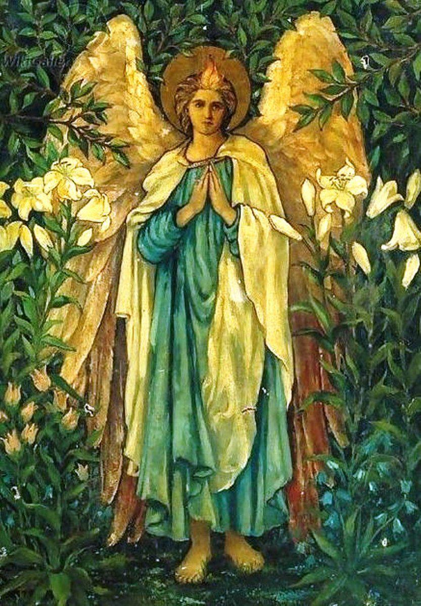 Archangel Gabriel By Sir Edward Burne Jones Archangel