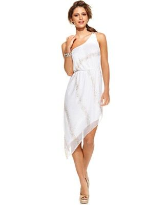 Para el verano y no de boda...   Ruby Rox Juniors Dress, Sleeveless Asymmetrical One-Shoulder   Web ID: 681887  3 / 5  Macys  Orig. $79.00  Now $54.99