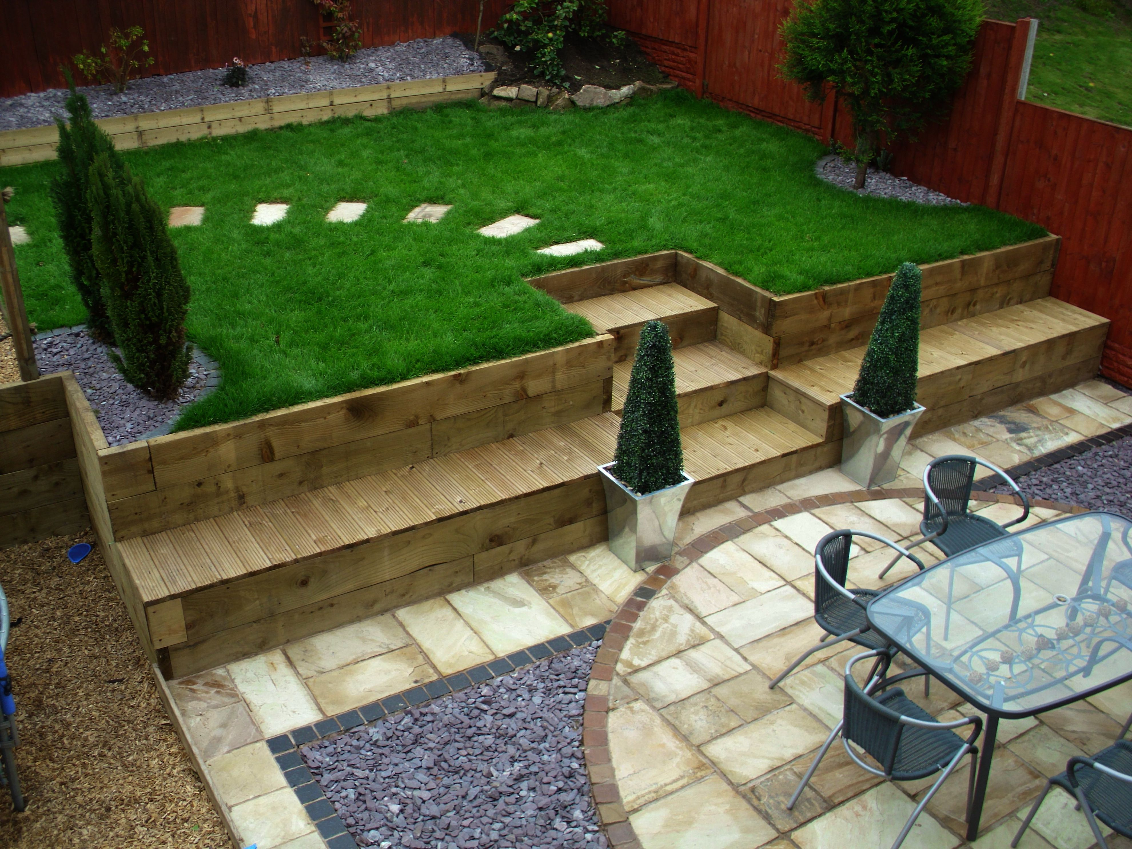 Landscape Gardening Services Until Landscape Gardening Courses In Scotland Long Landscape Gardening Gosport Sloped Garden Sloped Backyard Backyard Landscaping