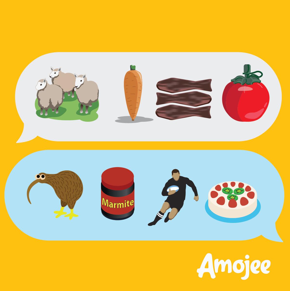 New Zealand Inspired Emoji