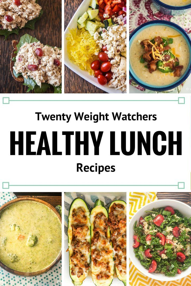 Twenty Weight Watchers Recipes For Lunch Healthy Recipes