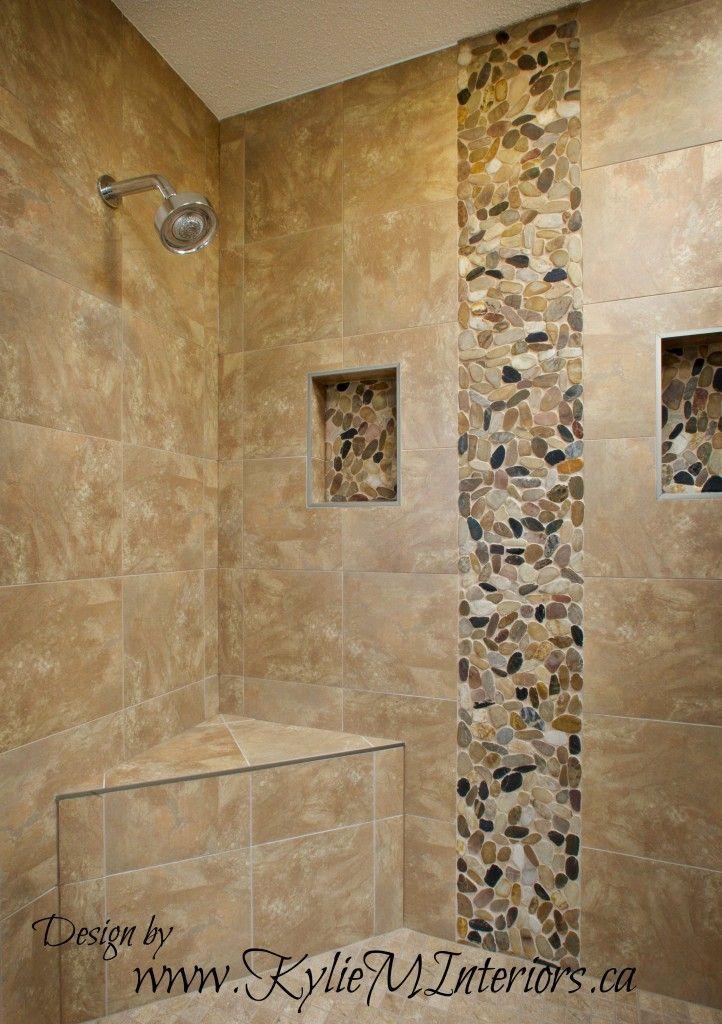 walk in shower porcelain tile