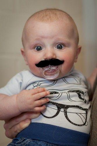 Moustache Pacifier Novelty Baby Dummy Fun Toy | eBay UK | eBay.co.uk