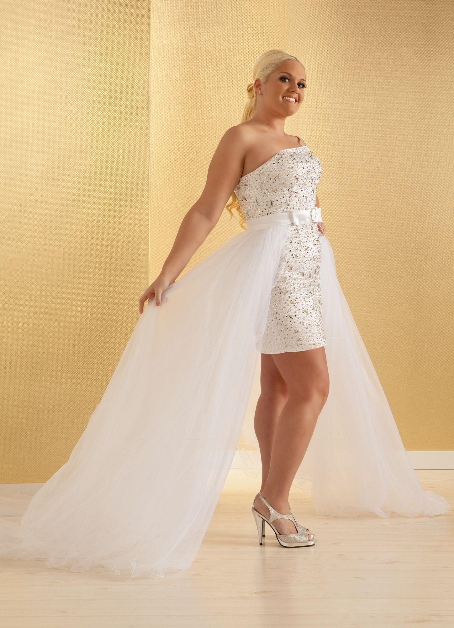 Plus Size Short Sexy Wedding Dresses