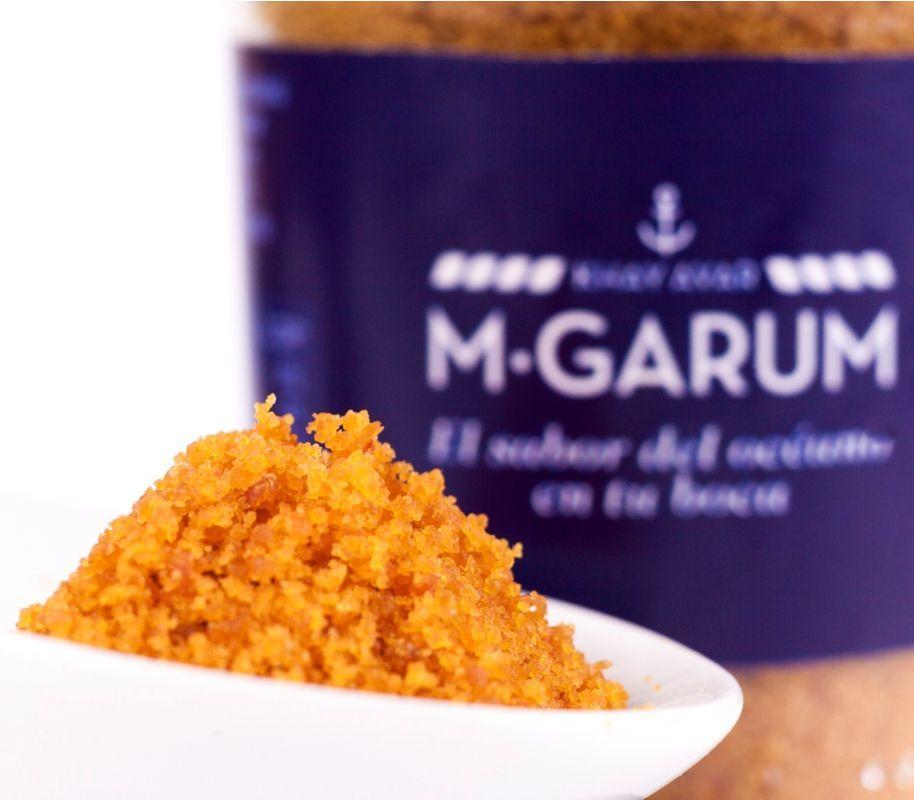 Huevas de Mújol Khay Avar M Garum ● Producto natural elaborado a base de Hueva de Mújol en polvo y con la conocida sal de las salinas de San Pedro del Pinatar (Murcia) Por sus características organolépticas, realza el sabor de gran cantidad de alimentos. Es un producto ideal para maridar con caldos, cremas, ensaladas y pastas entre otros. Un producto consideradas como el Caviar del Mediterráneo   - , #Caviar #Hueva #MGarum #Mújol #PotenciadorDeSabor. En www.rincondell