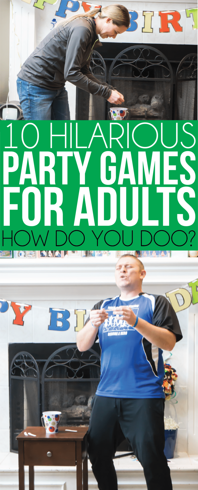 19 Hilarious Party Games for Adults Party games group