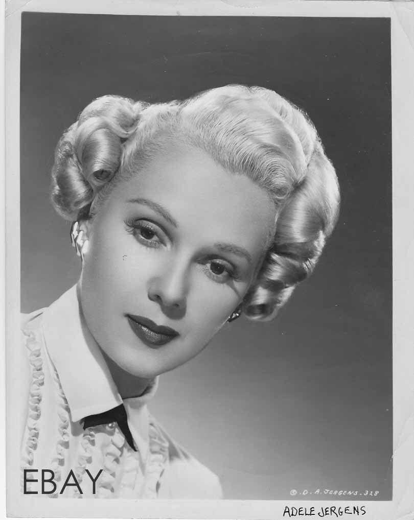 Adele Jergens sexy blonde VINTAGE Photo | eBay