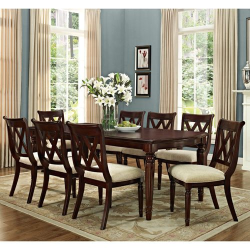 Dining Chairs Costco: Costco Montreat 9-piece Dining Set $2,299.99