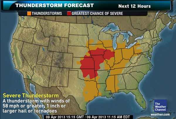 TOR CON Index  Exclusively From   Weather TOR CON Index  Exclusively From The Weather Channel   The Weather Channel