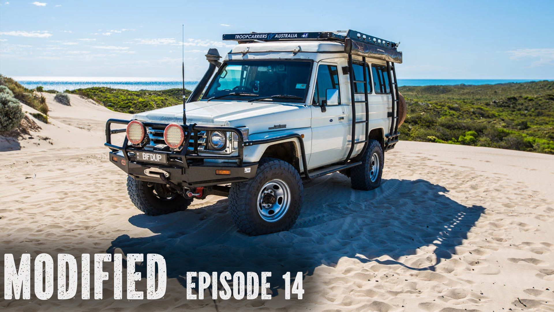 Landcruiser Troopy Camper Modified Episode 14 Land Cruiser Fj Cruiser Camper Conversion