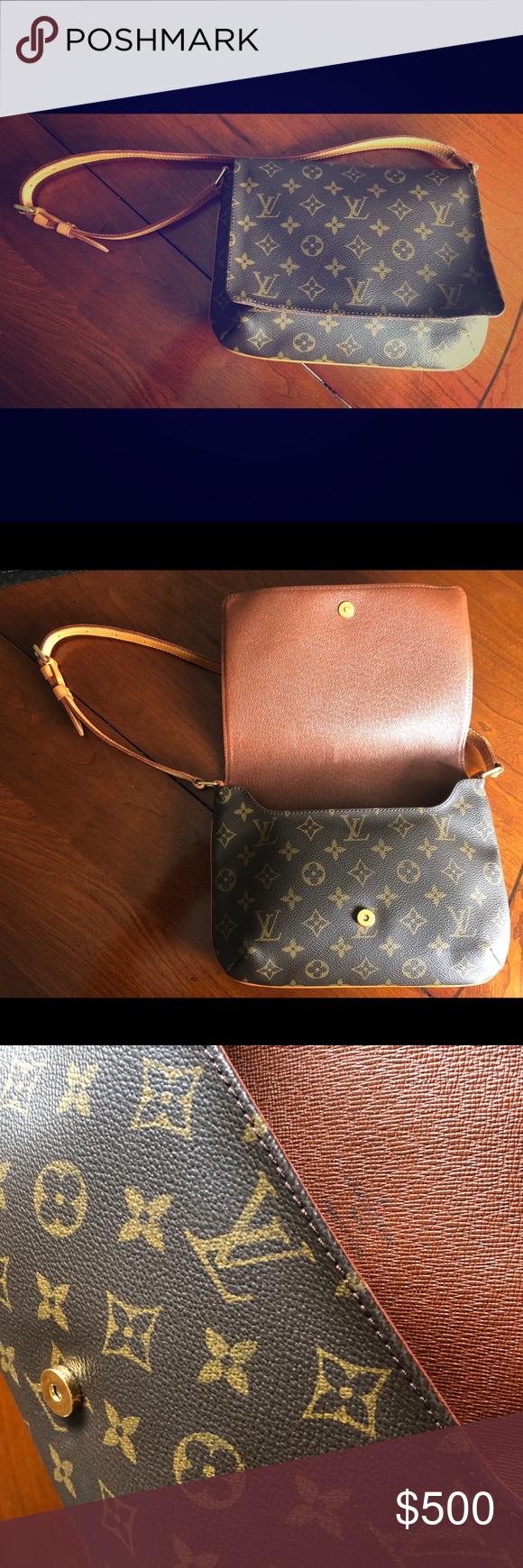 e0e61c052054 Messenger Bags · Vintage Louis Vuitton Musette Tango Short Strap Vintage  Louis Vuitton Musette Tango Short Strap This authentic