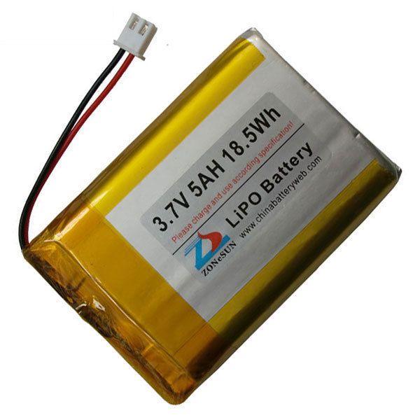 $32.80 (Buy here: https://alitems.com/g/1e8d114494ebda23ff8b16525dc3e8/?i=5&ulp=https%3A%2F%2Fwww.aliexpress.com%2Fitem%2FShun-5000mAh-3-7V-lithium-polymer-battery-105575-77x55x10-mobile-emergency-power%2F32250968084.html ) Shun 5000mAh 3.7V lithium polymer battery 105575 77x55x10 mobile emergency power for just $32.80