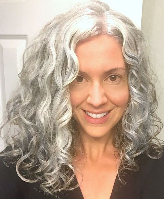 Long Hairstyles For Older Women - Stylendesigns