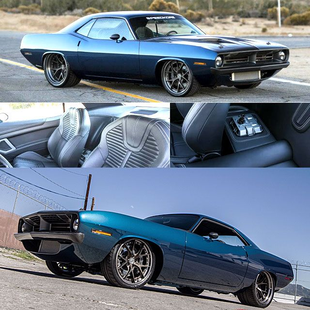 Truly Stunning 700Hp '70 #Plymouth #Barracuda Restomod