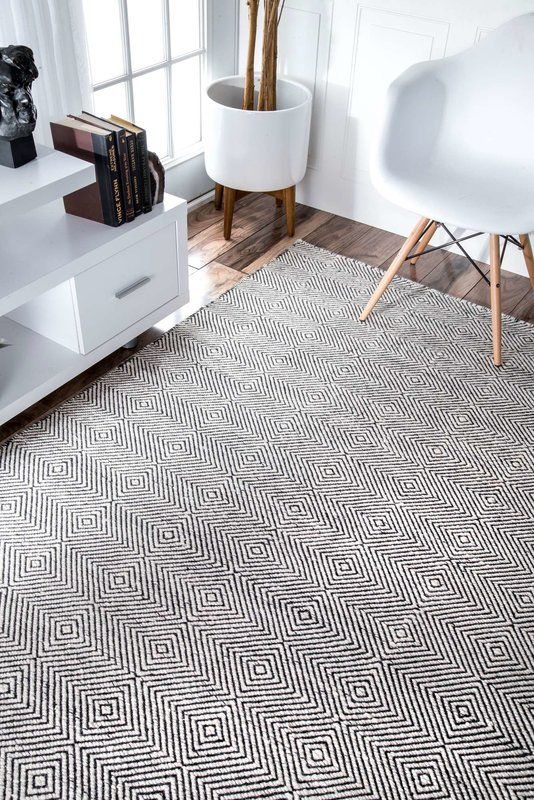 Marcelo Hand Tufted Wool Cotton Ivory Area Rug Reviews Allmodern Rugs Usa Contemporary Rugs Rugs On Carpet