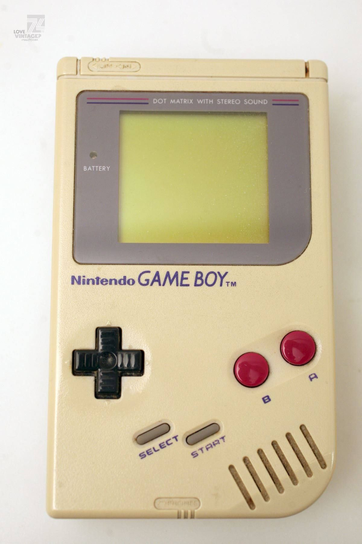 cyan74.com - vintage & pop culture | Nintendo Game Boy Classic
