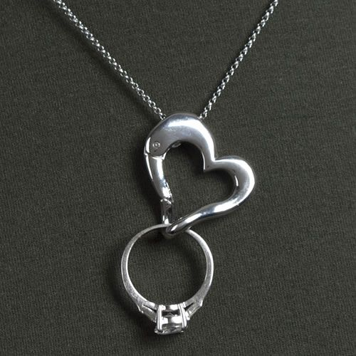 keep safe ring holder necklace awesome i need this for my pregnancy so i engagement - Wedding Ring Necklace Holder