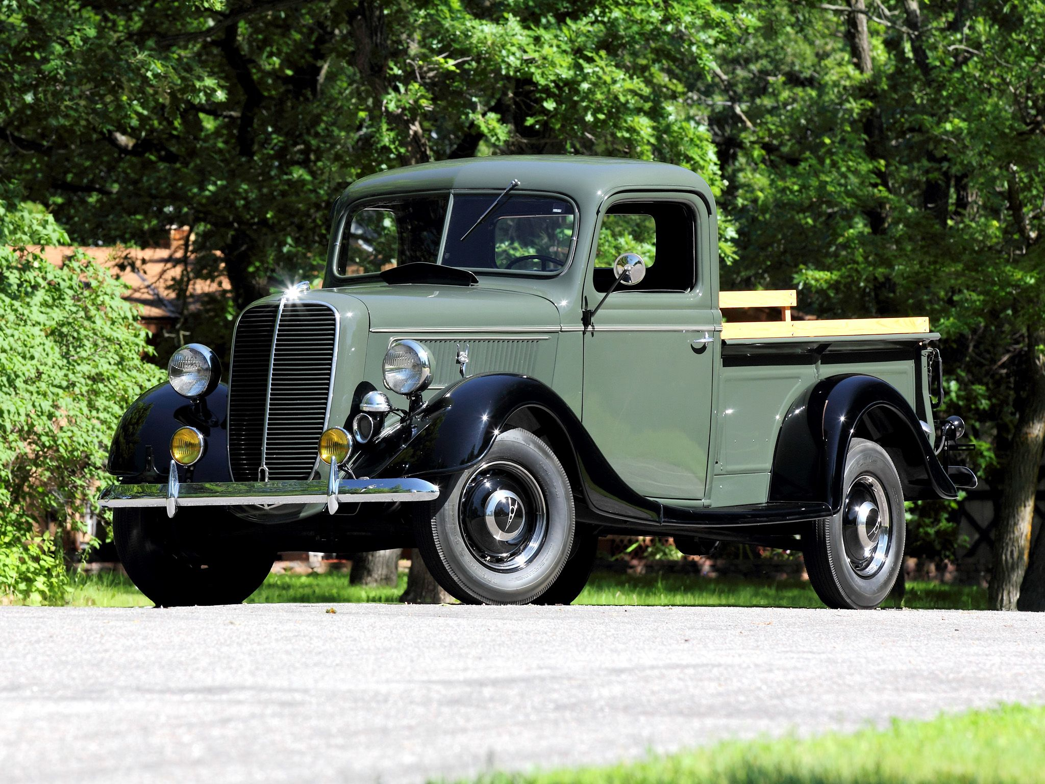 1937 Ford V8 Deluxe Pickup Maintenance/restoration of old/vintage ...
