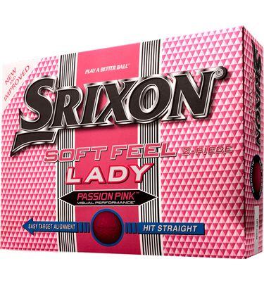 Srixon Soft Feel Lady Passion Pink Golf Balls at Golfsmith.com