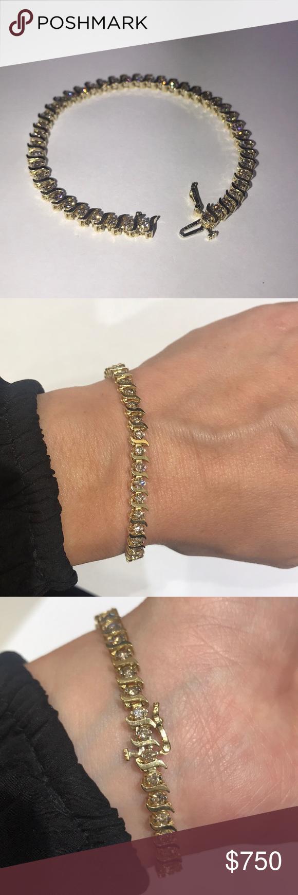 Diamond Tennis Bracelet Tennis Bracelet Diamond Womens Jewelry Bracelets Bracelets