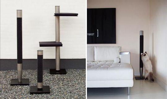 Danish Design Style For Modern Cats | Cat furniture, Danish