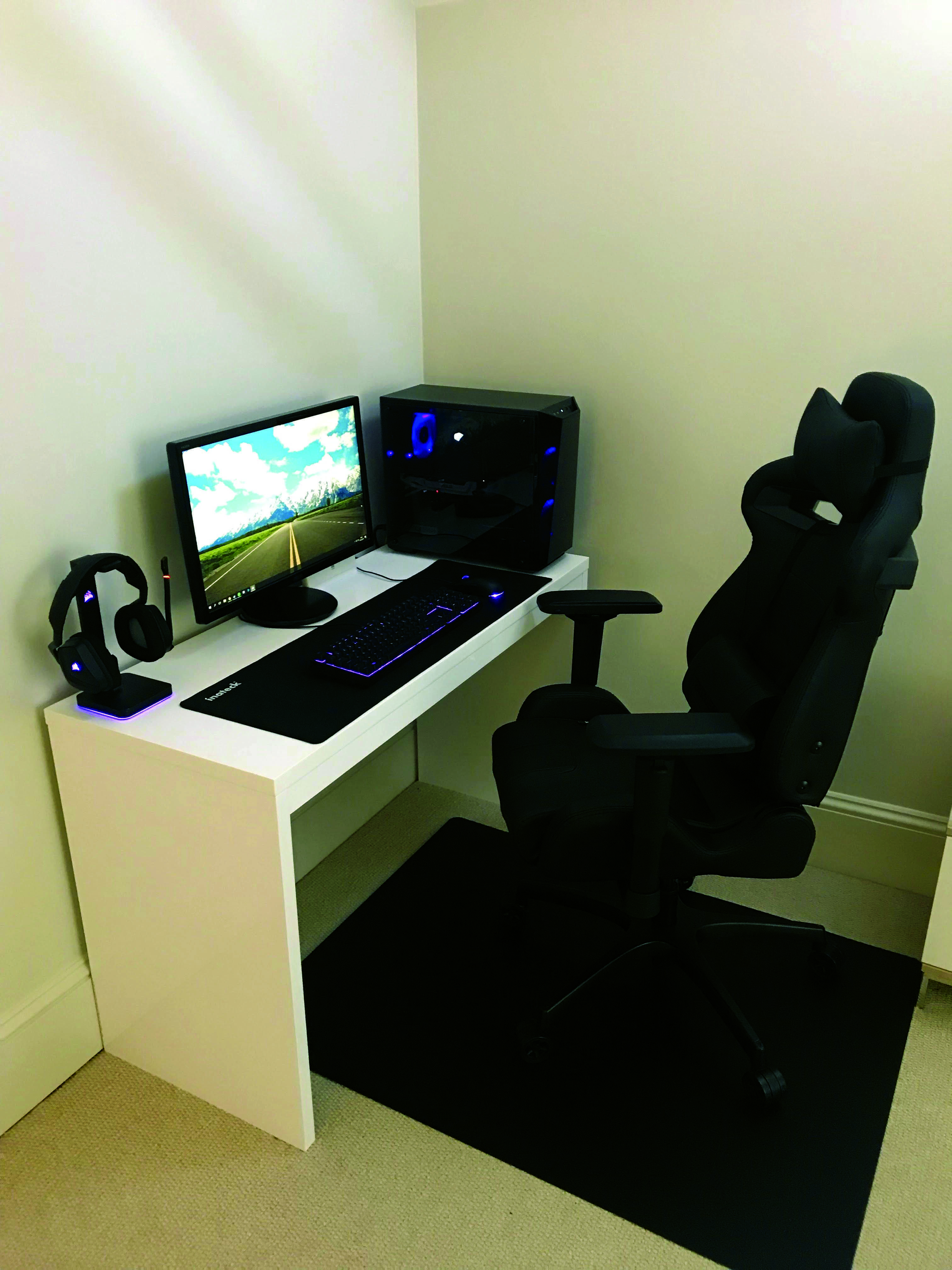 DIY Computer Desk Concepts (With images) Gaming computer
