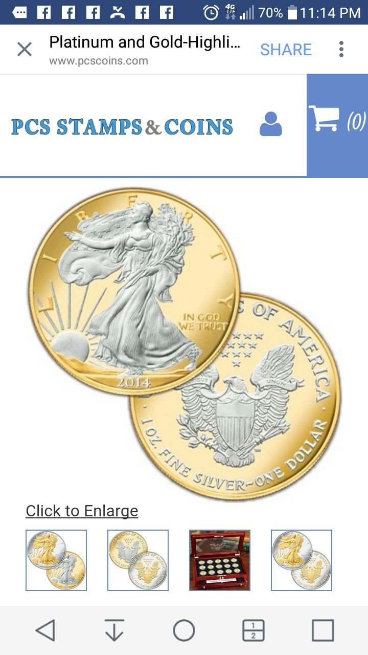 One Ounce 999 Fine Silver United States American Silver Eagle Coin In Two Tone 24 Kt Gold And Platinum Silver Eagle Coins American Silver Eagle Gold Coins