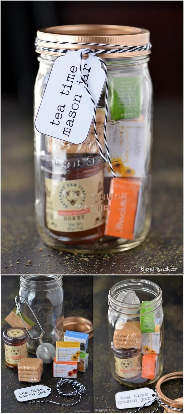 160+ DIY Mason Jar Crafts and Gift Ideas #masonjardiy