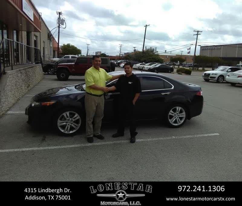 Congratulations Armando On Your #Acura #TSX From J.C