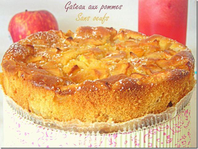 Gateau Aux Pommes Sans Oeufs Allergie Aux Oeufs Recette Gateau