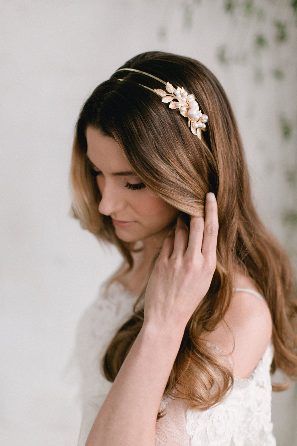 a gorgeous hair piece is a great alternative to wearing a veil