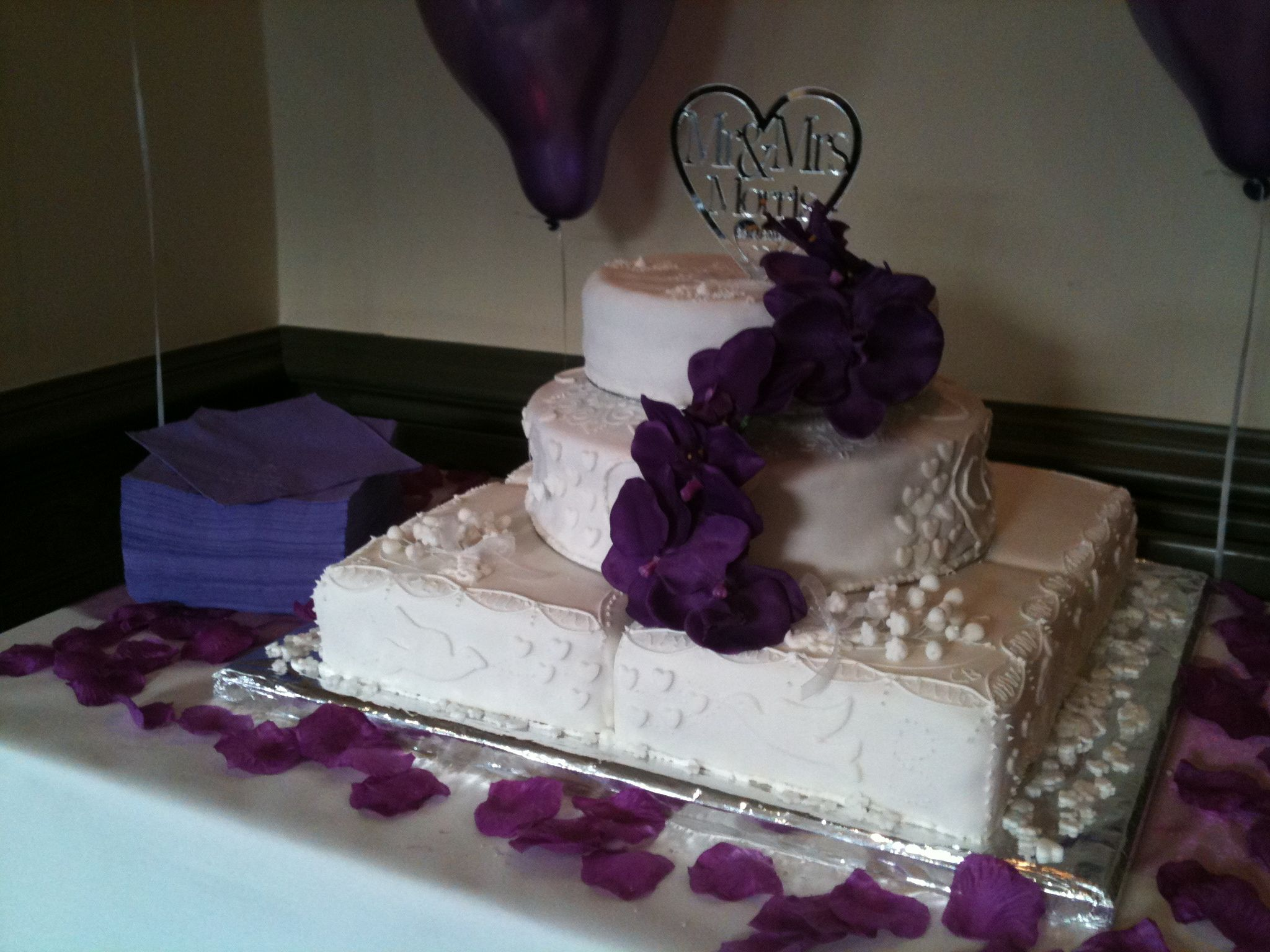 This Is THE Wedding Cake, Bottom Layer Fruit, A Large Tin For The Bottom