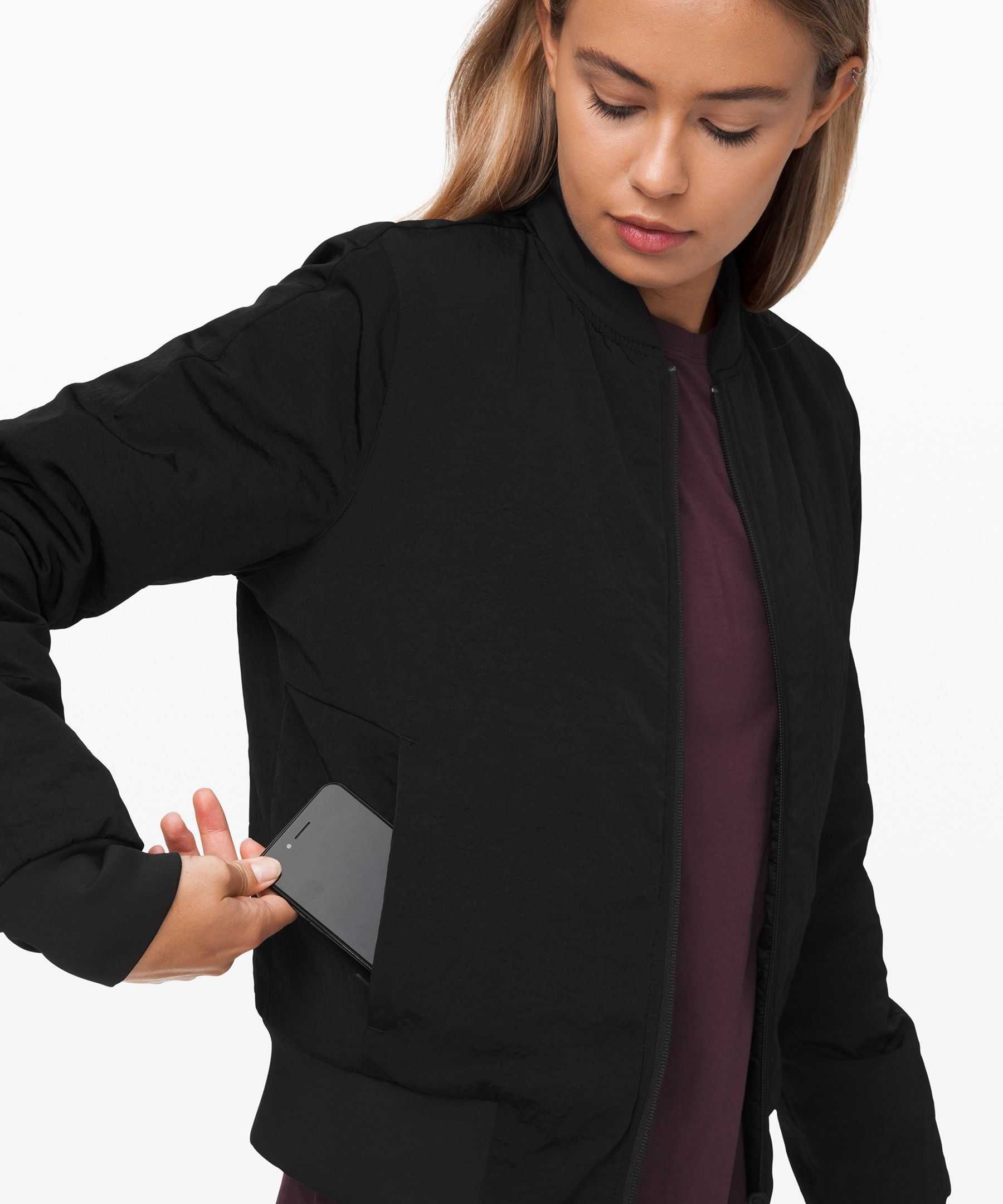Non Stop Bomber Reversible Women S Jackets Lululemon Jackets For Women Bomber Jacket Women Lululemon Women [ 2160 x 1800 Pixel ]