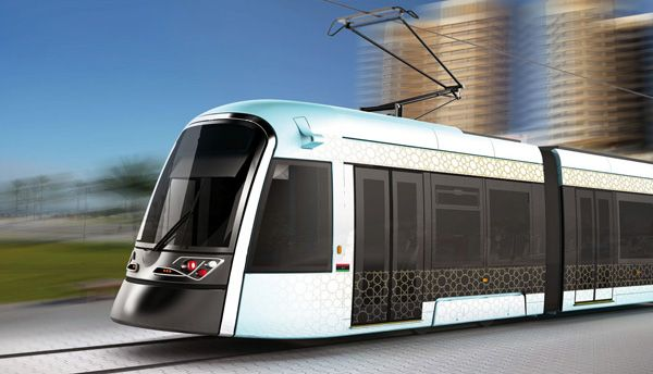 Libya S Tramway By Ahmed Smaali Yanko Design Light Rail Vehicle Transportation Design Modern