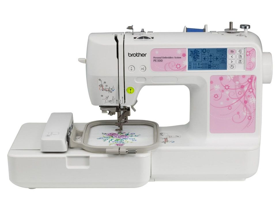 Bordadora Domestica Pe500 | máquinas de coser | Pinterest
