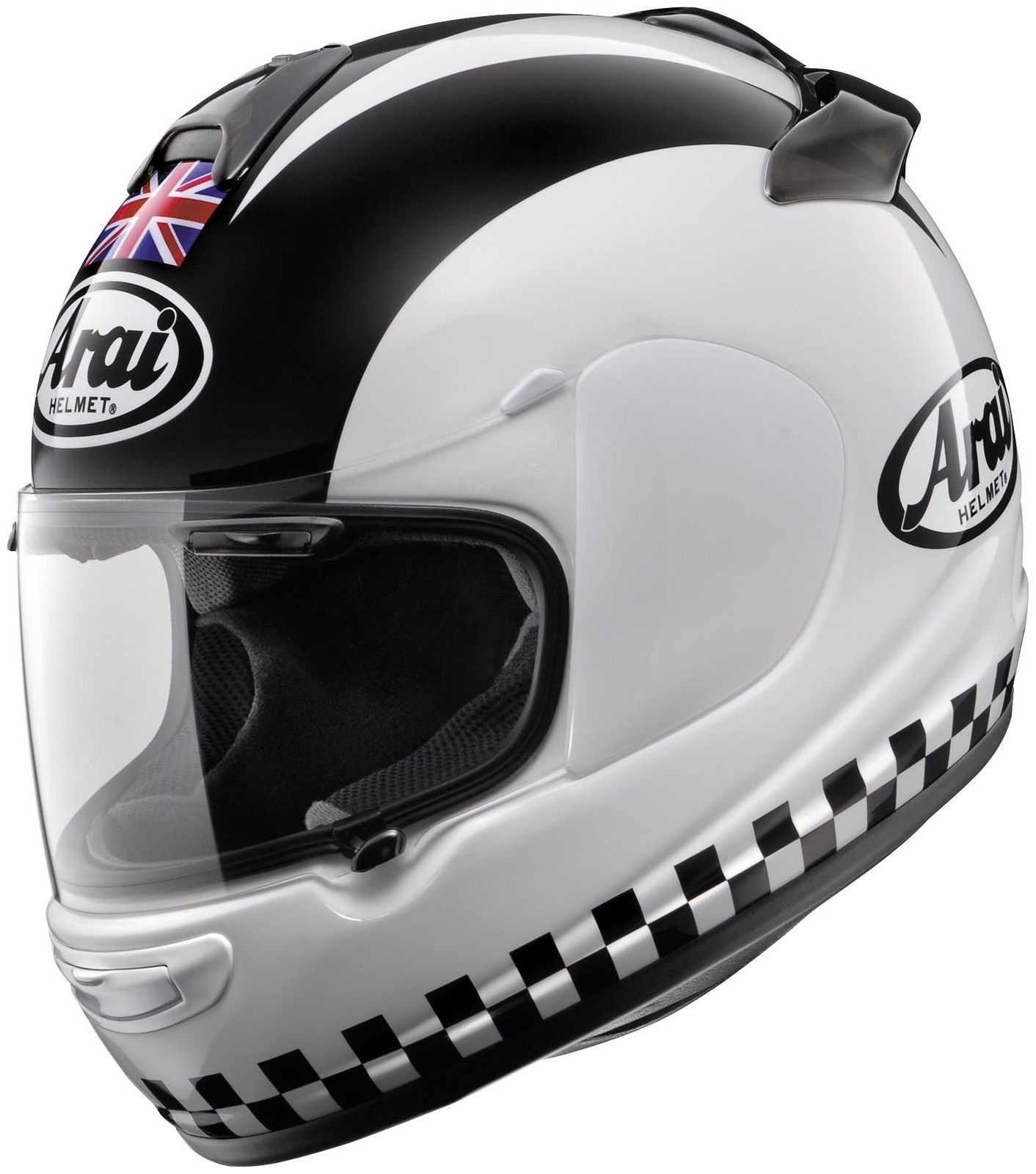 Arai Phil Read Helmet Bikes & Stuff White Motorcycle