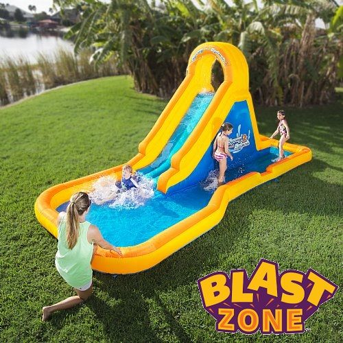 Bring The Amusement Park Home With Blast Zone Bounce