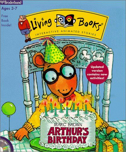 Arthur's Birthday By The Learning Company, Living Books