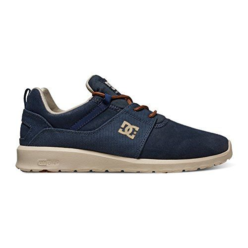 DC Heathrow SE Skate Shoe NavyDark Chocolate 12 M US -- You can get additional details at the image link. This is an Amazon Affiliate links.