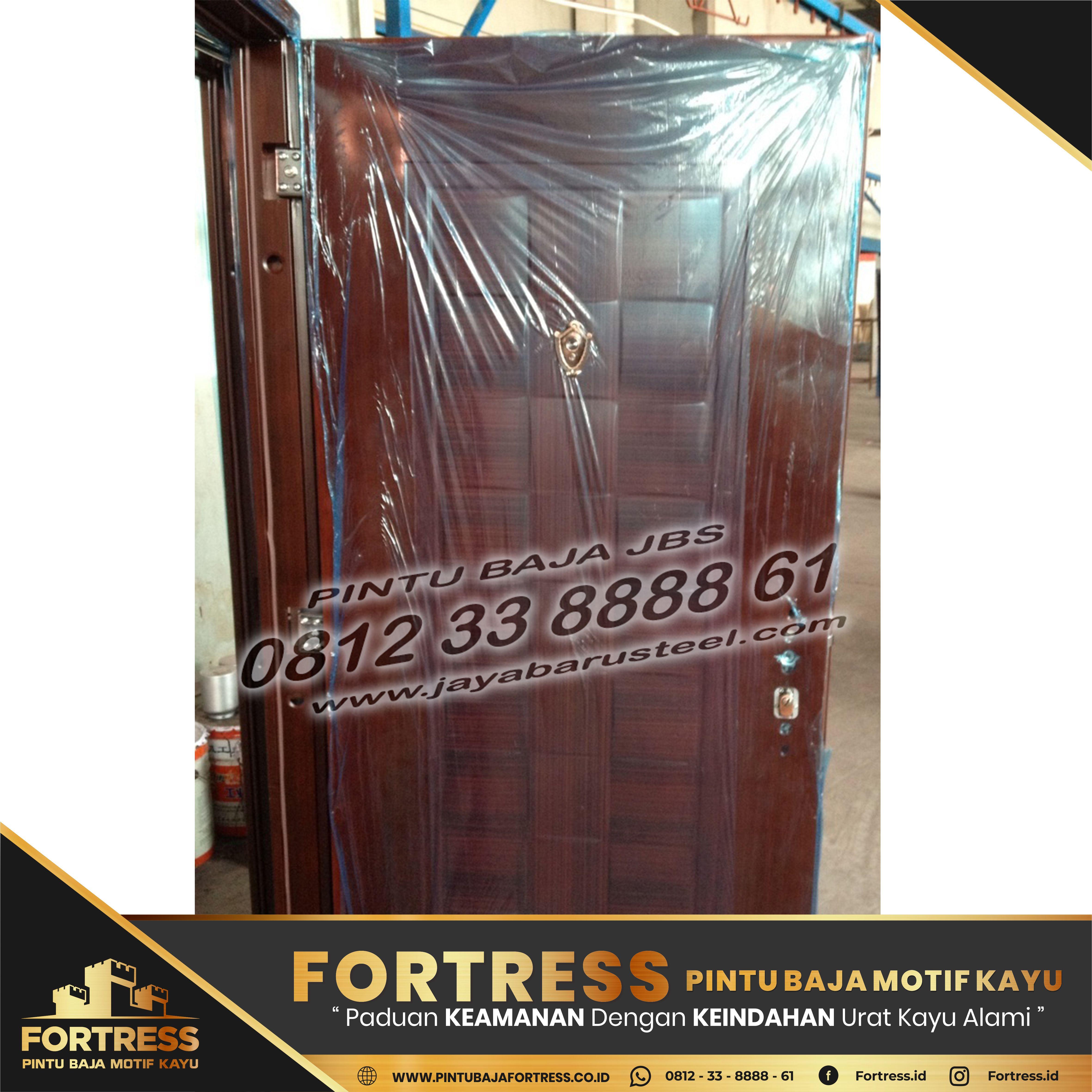 0812-91-6261-07 (FORTRESS) Model of the Banjar Steel Plate Door …