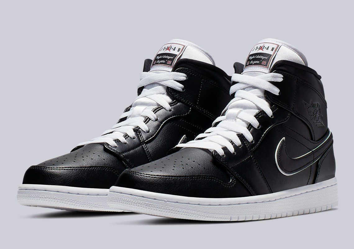 on sale c6a8c 8f00e Air Jordan 1 Mid Maybe I Destroyed The Game   SneakerNews.com