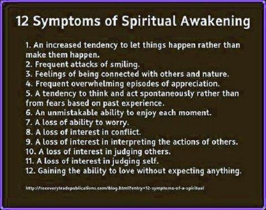 Ascension Symptoms With Images Spiritual Awakening