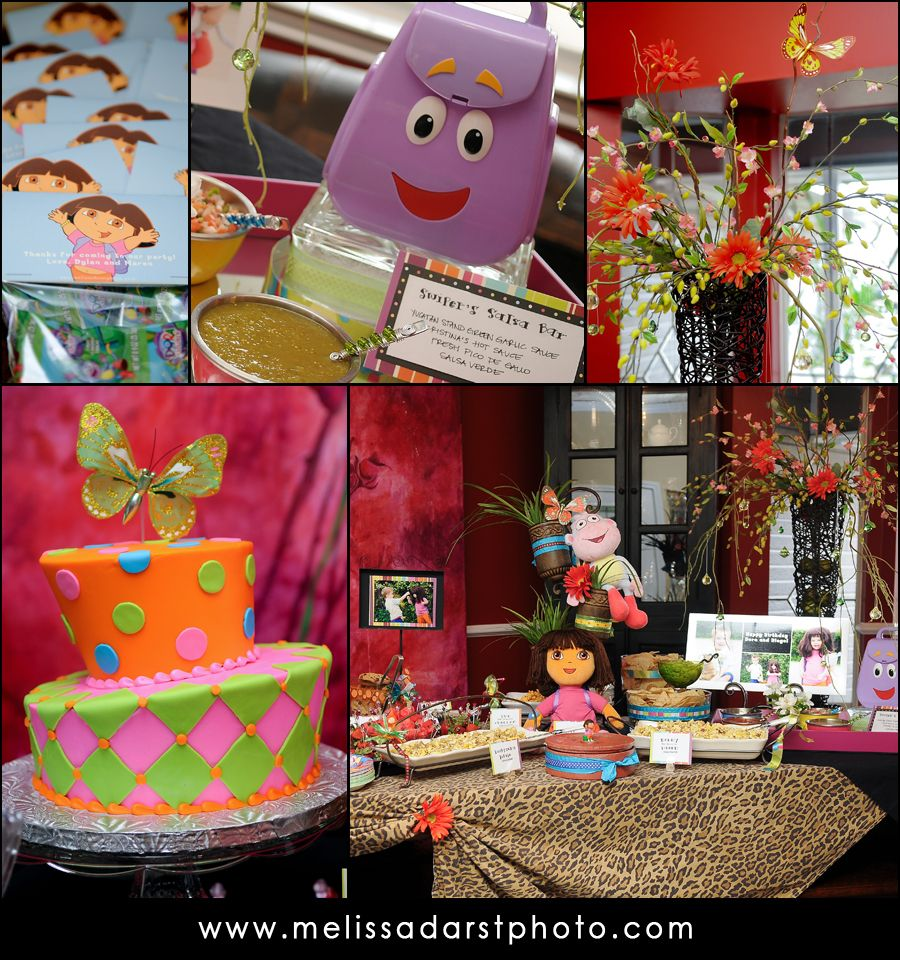 Dora & Diego Birthday Party Part One: The Details