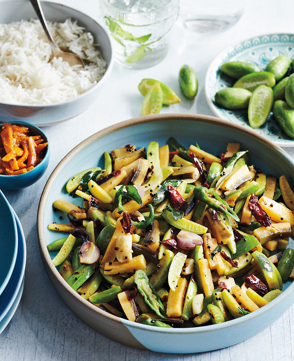 What To Make With All Your Local Zucchini Mezhukkupuratti A Simple South Indian Stir Fry Recipe Vegetarian Menu Plantain Recipes Plant Based Whole Foods