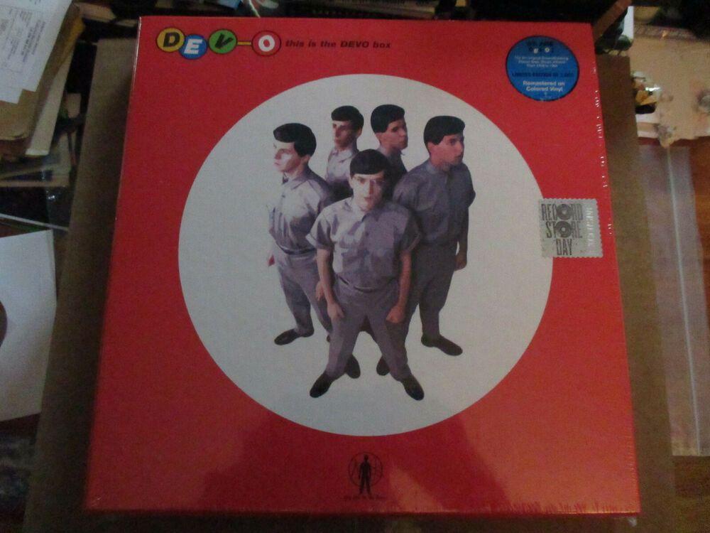 Devo This Is The Devo 6 Lp Box Set Rsd 2019 Ltd 3000 Colored Vinyl 50 Bids Lp Box Record Store Are We Not Men