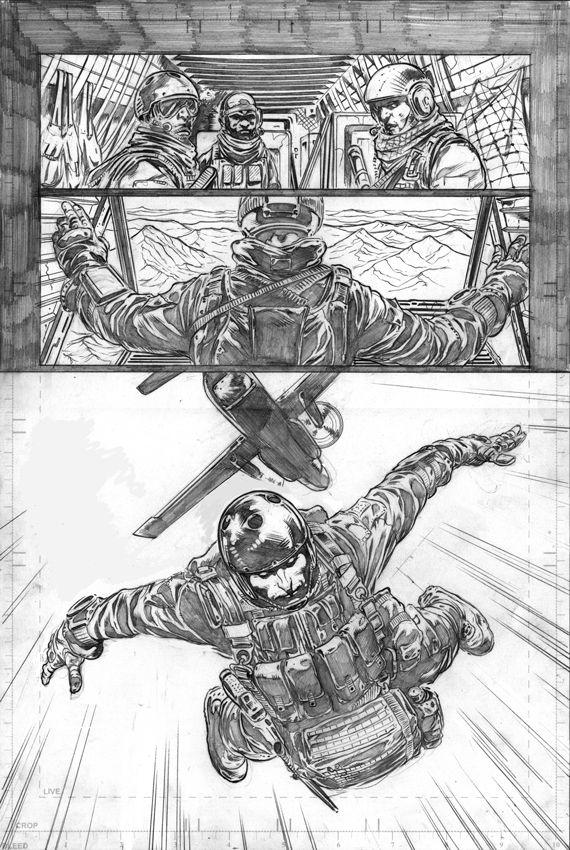 Bloodshot #1 interior page