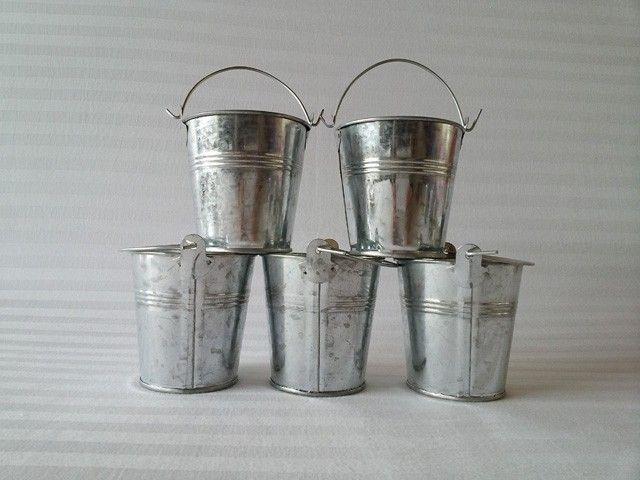 20pcs Lot Metal Pots Garden Bucket Tin Box Iron Pots Nursery Pots Mini Vase Balcony Bucket Tub In Flower Pots Planter Mini Vase Cheap Flower Pots Flower Pots